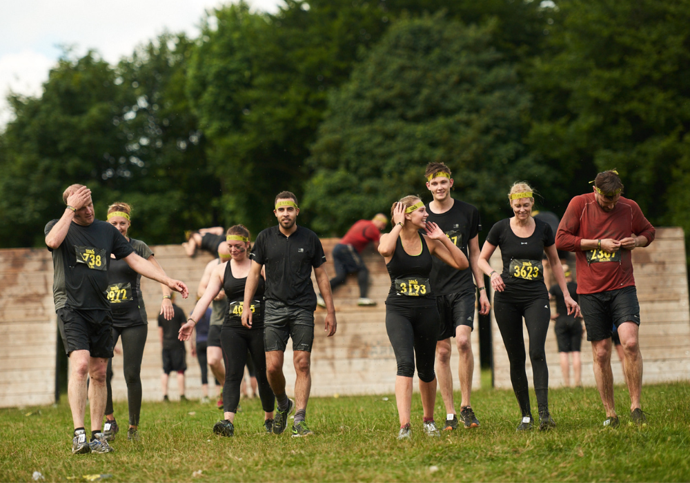 Charlie tackles Total Warrior for YoungMinds